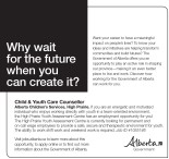 Child & Youth Care Counsellor employment opportunity